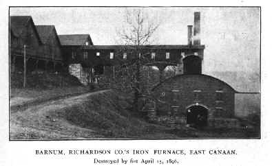 Beckley Furnace -- before the fire of 1896