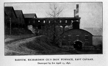 "Beckley Furnace, from ""Scrap Book of North Canaan"""