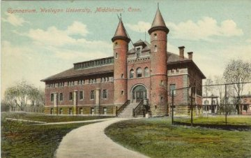 History: Wesleyan College gymnasium, Middletown, CT